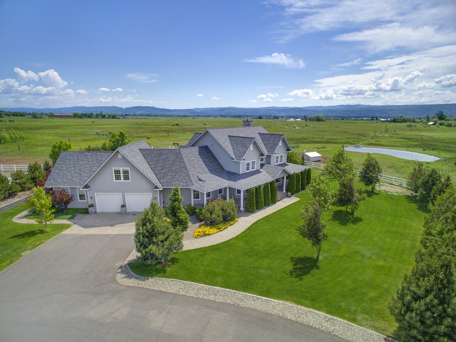 Einfamilienhaus für Verkauf beim 444 Buckboard Lane Ellensburg, Washington 98926 Vereinigte Staaten