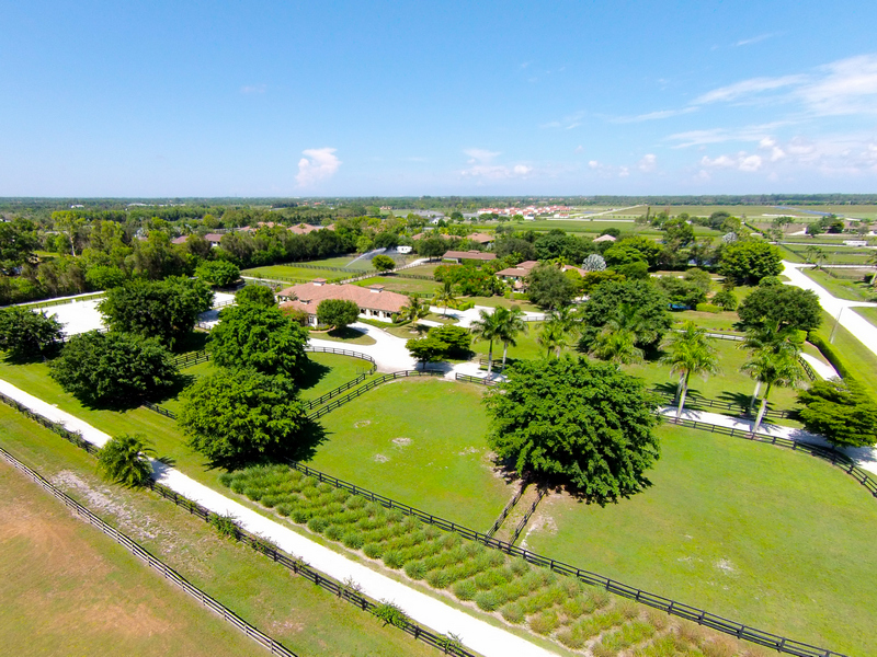 Ferme / Ranch / Plantation pour l Vente à Steeplechase Farm 13281 52nd Place S Wellington, Florida 33414 États-Unis