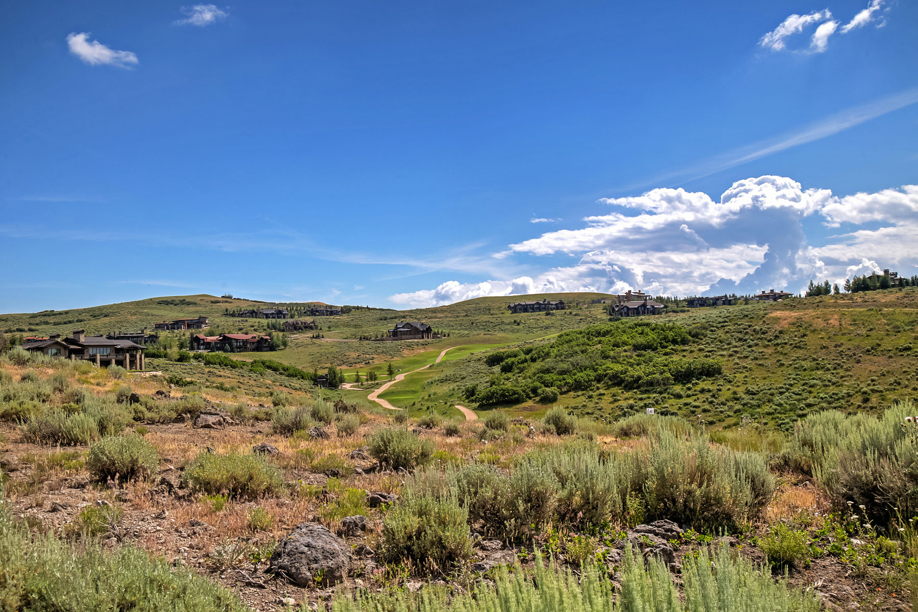 Земля для того Продажа на Amazing Homesite with Views 8882 N Promontory Ridge Dr Lot 6 Park City, Юта, 84098 Соединенные Штаты