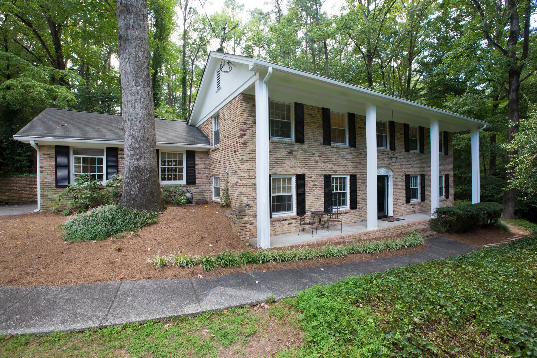 Частный односемейный дом для того Продажа на Gorgeous Mid Century Classic 3560 Embry Circle Atlanta, Джорджия, 30341 Соединенные Штаты