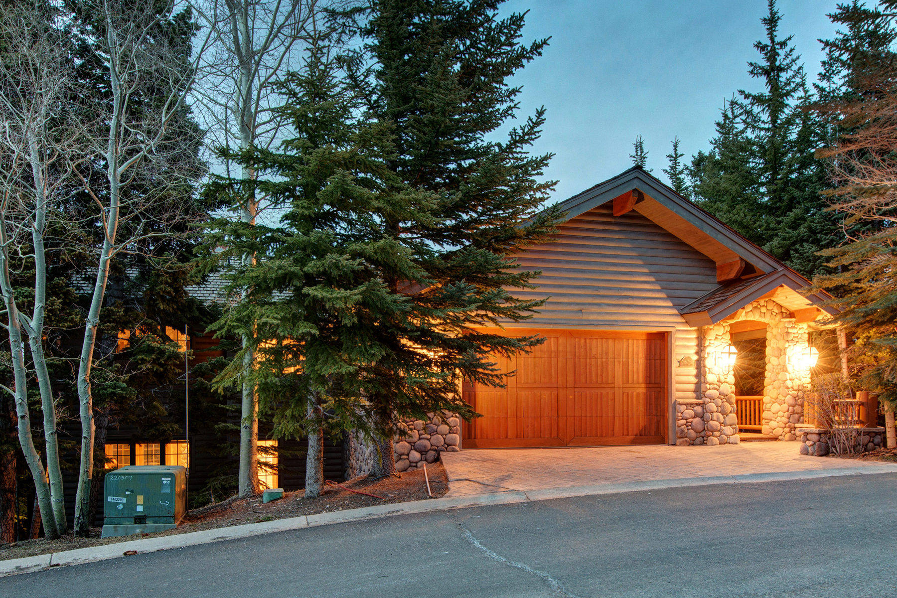 Single Family Home for Sale at Stone's Throw from Skiing with Views 9 Bellevue Court Park City, Utah 84060 United States