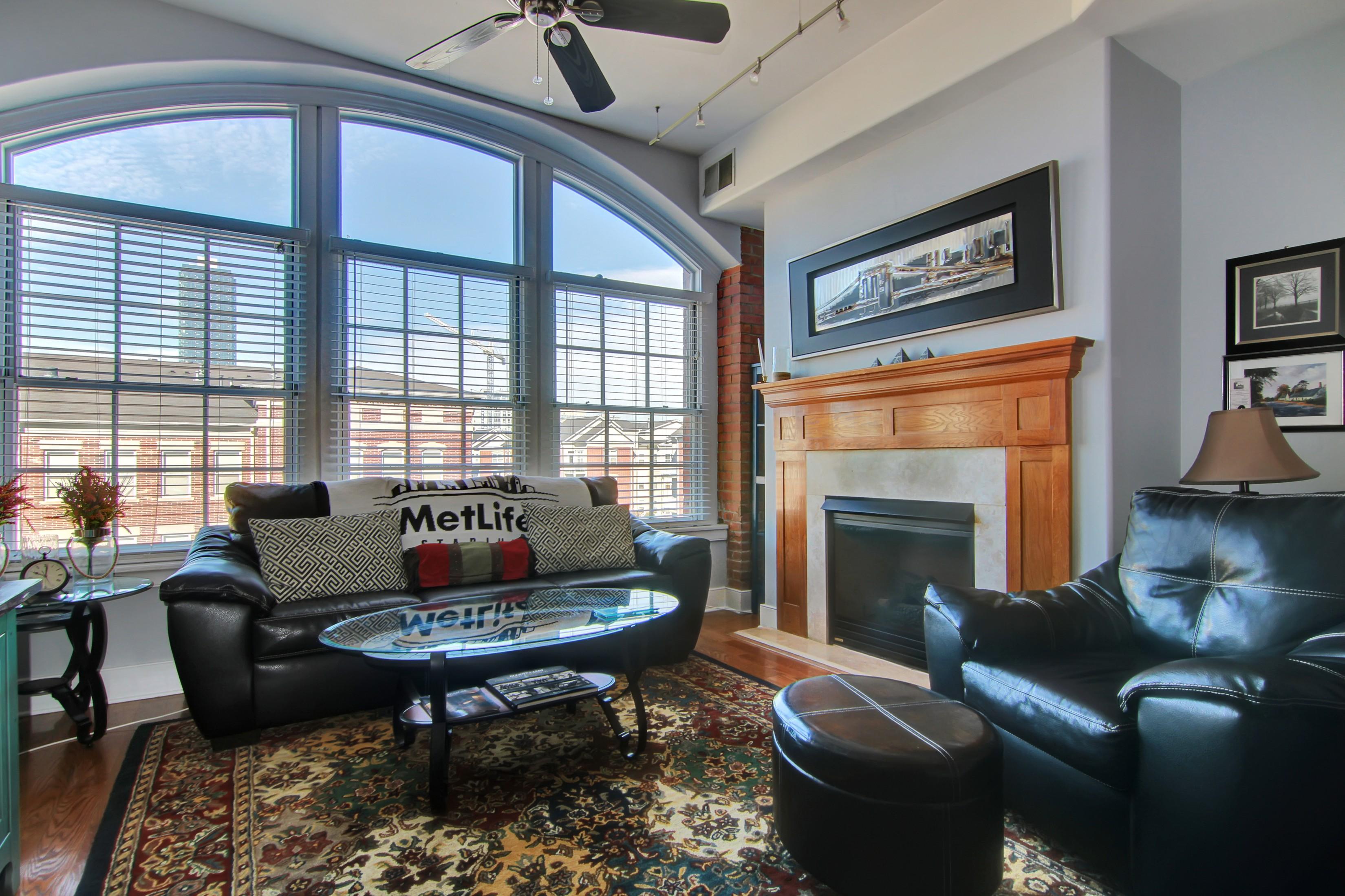 "Condominium for Rent at ""Sprawling, Sun-Splashed 1BR1.5Bth + Parking @ Sugar House!"" 174 Washington St #4C Jersey City, 07302 United States"