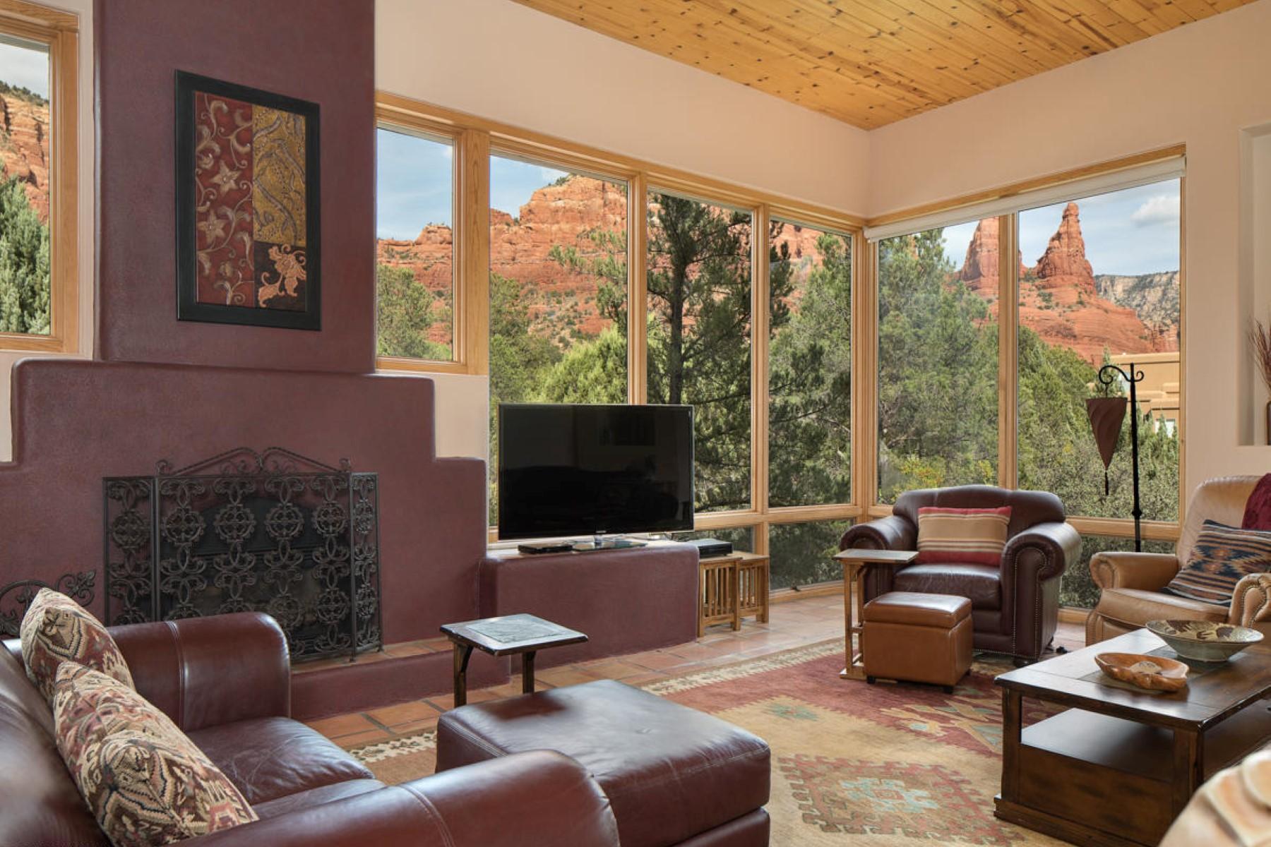 Vivienda unifamiliar por un Venta en Rare gem in highly coveted Chapel Vista 361 Fox Rd Sedona, Arizona 86336 Estados Unidos