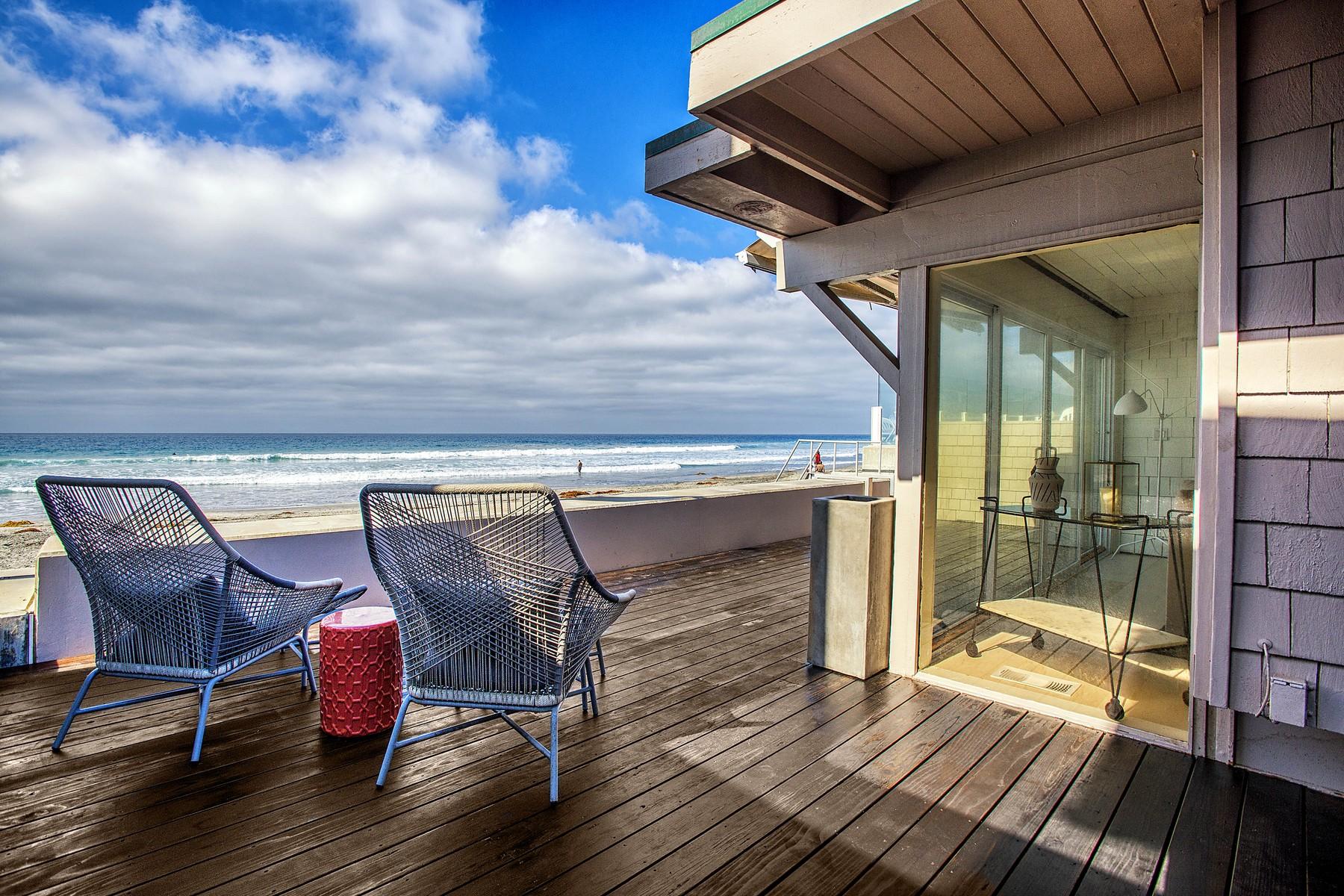 Casa Unifamiliar por un Venta en 2048 Ocean Front Del Mar, California 92014 Estados Unidos
