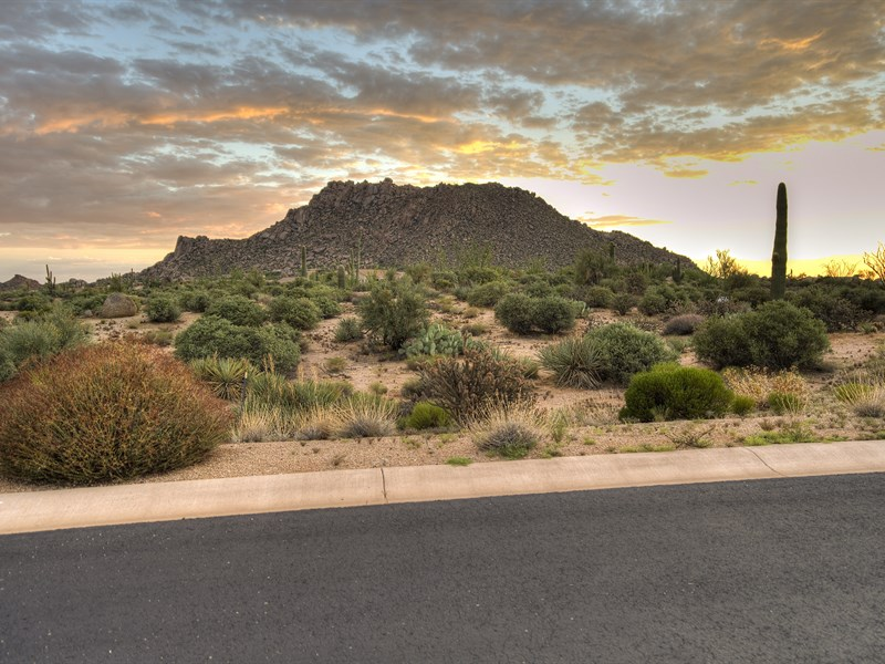 Property Of Homesite in Luxury Gated North Scottsdale Community of Collina e Vista