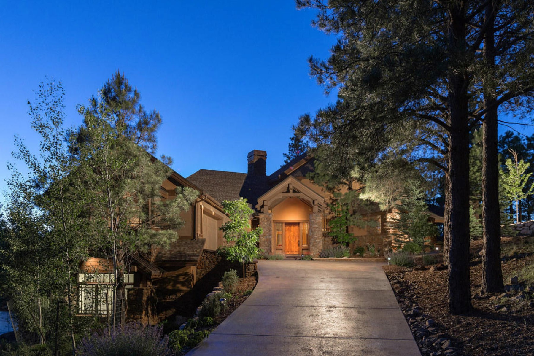 sales property at Incredible custom residence on the 11th hole of Pine Canyon
