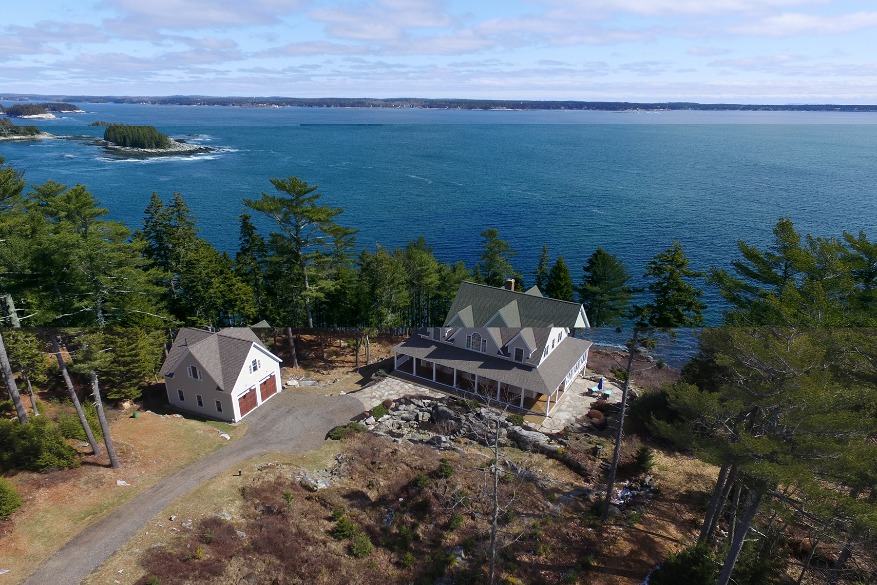 Single Family Home for Sale at MaryCliff 41 Ledge Island Lane Georgetown, Maine 04548 United States