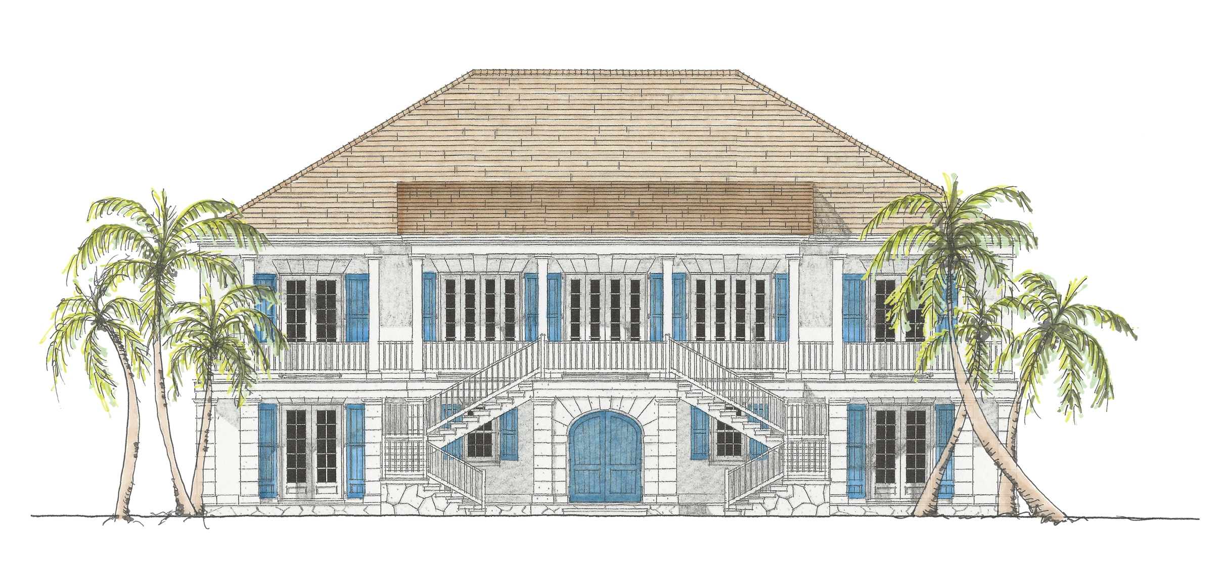 Additional photo for property listing at Lot #6. The Residences at the Dunmore Harbour Island, Eleuthera Bahamas