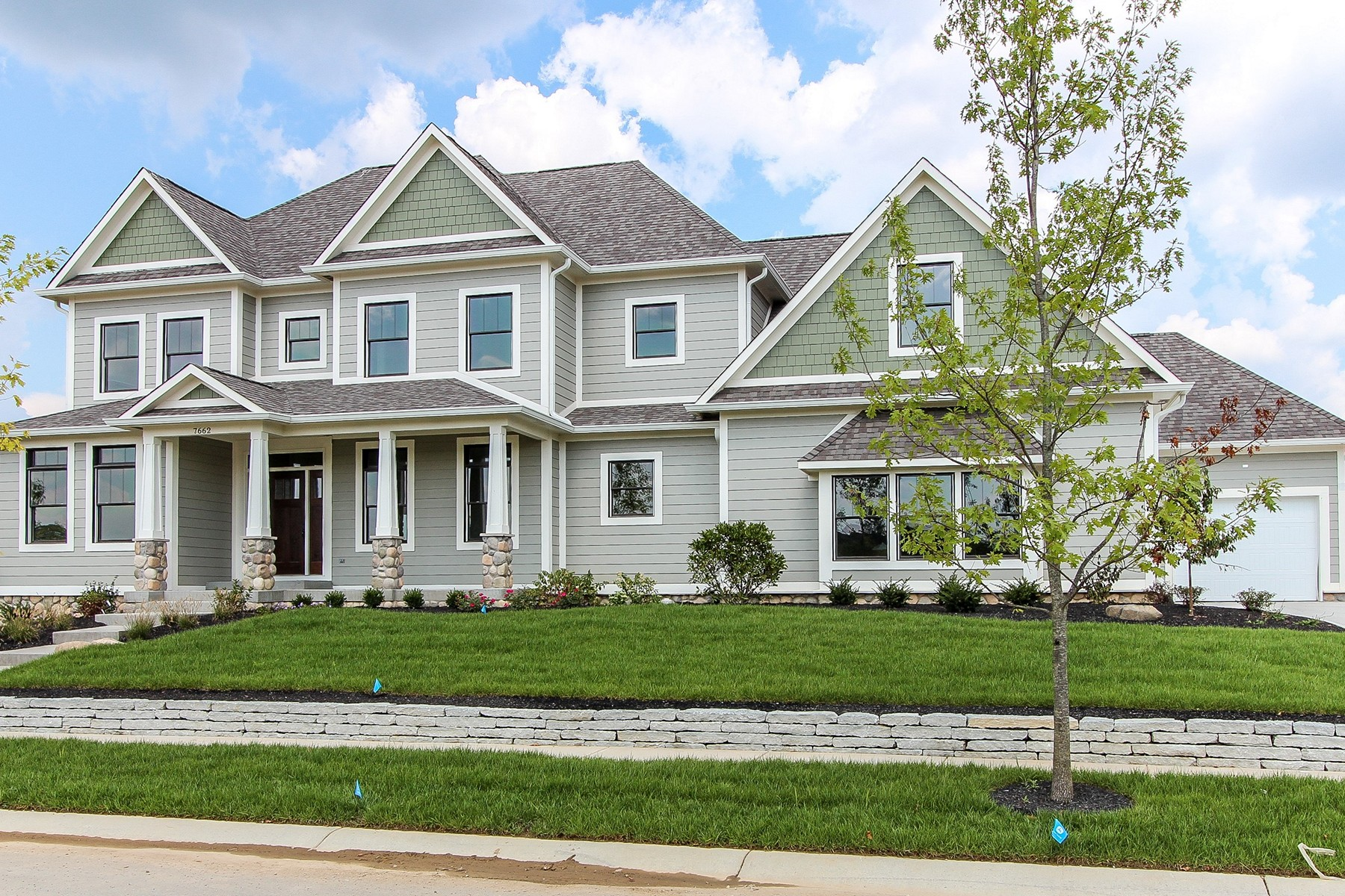 Vivienda unifamiliar por un Venta en Luxurious Living 7662 Deerfield Lane Zionsville, Indiana 46077 Estados Unidos