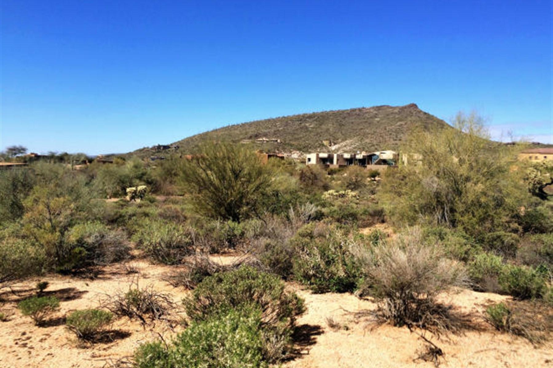 토지 용 매매 에 Large Lot in Desert Mountain's Village of Gambel Quail 9753 E Horizon Drive 11 Scottsdale, 아리조나, 85262 미국
