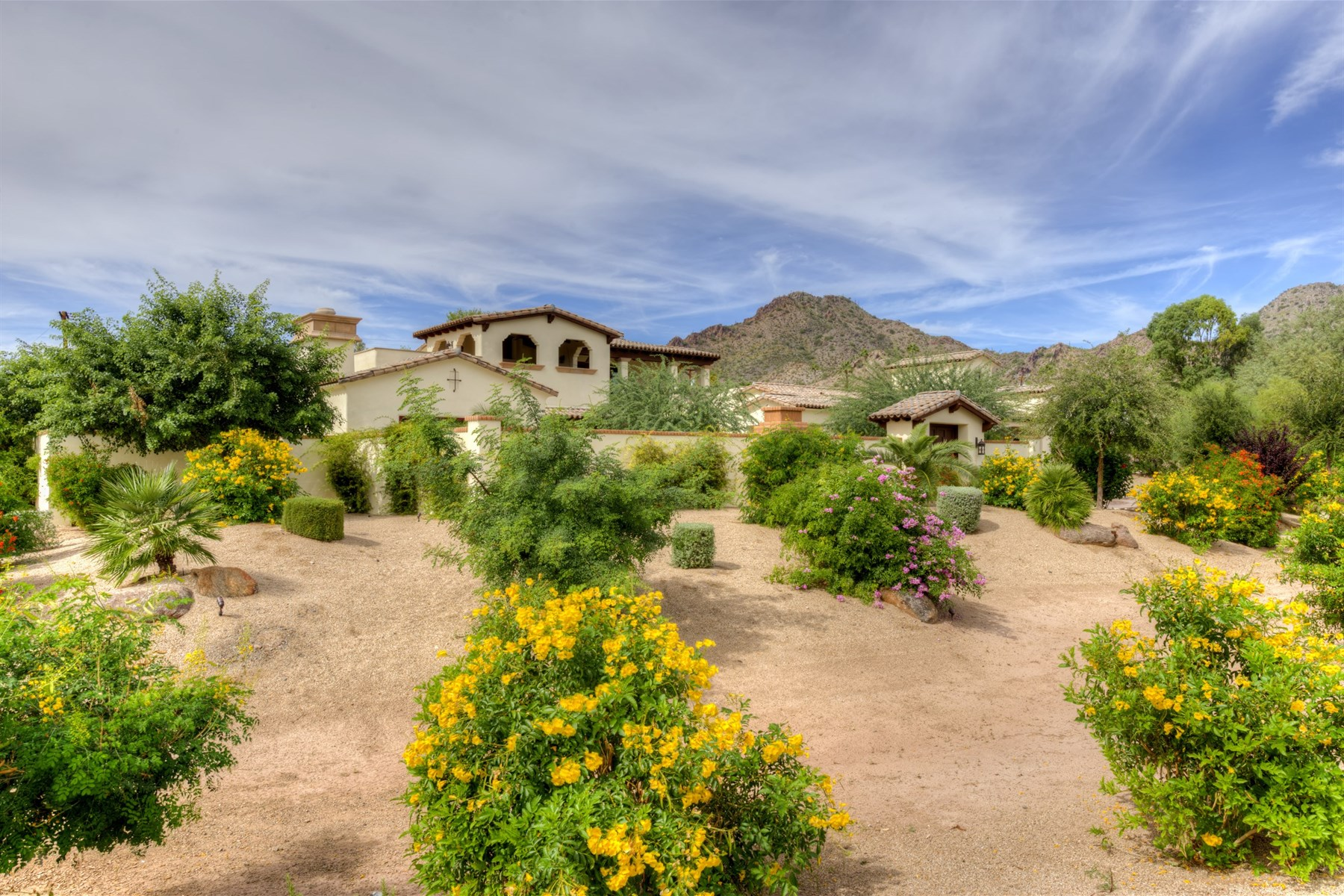 Single Family Home for Sale at Centrally Located Custom Santa Barbara Style Home In Paradise Valley 6504 N 40th Place Paradise Valley, Arizona 85253 United States