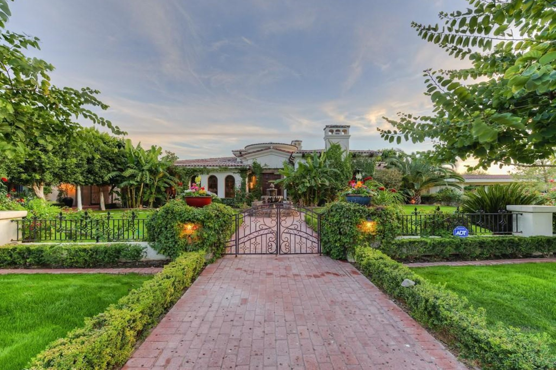 Property For Sale at Spectacular Mediterranean Estate on One of The Best Streets in Arcadia