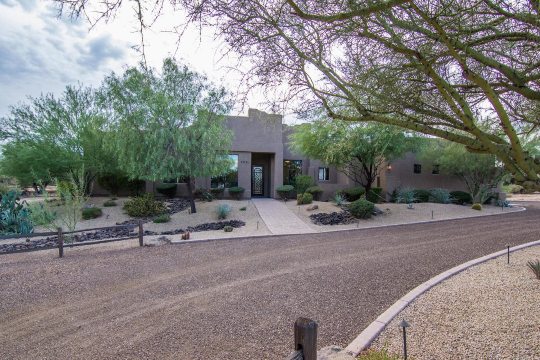 Частный односемейный дом для того Продажа на Impeccably maintained home with fabulous 14241 E Bajada Dr Scottsdale, Аризона, 85262 Соединенные Штаты