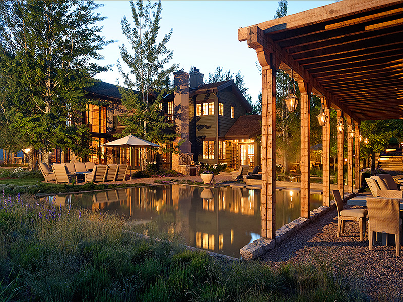 Maison unifamiliale pour l Vente à Serenity in Woody Creek 250 Running Mare Road Woody Creek, Colorado 81656 États-Unis
