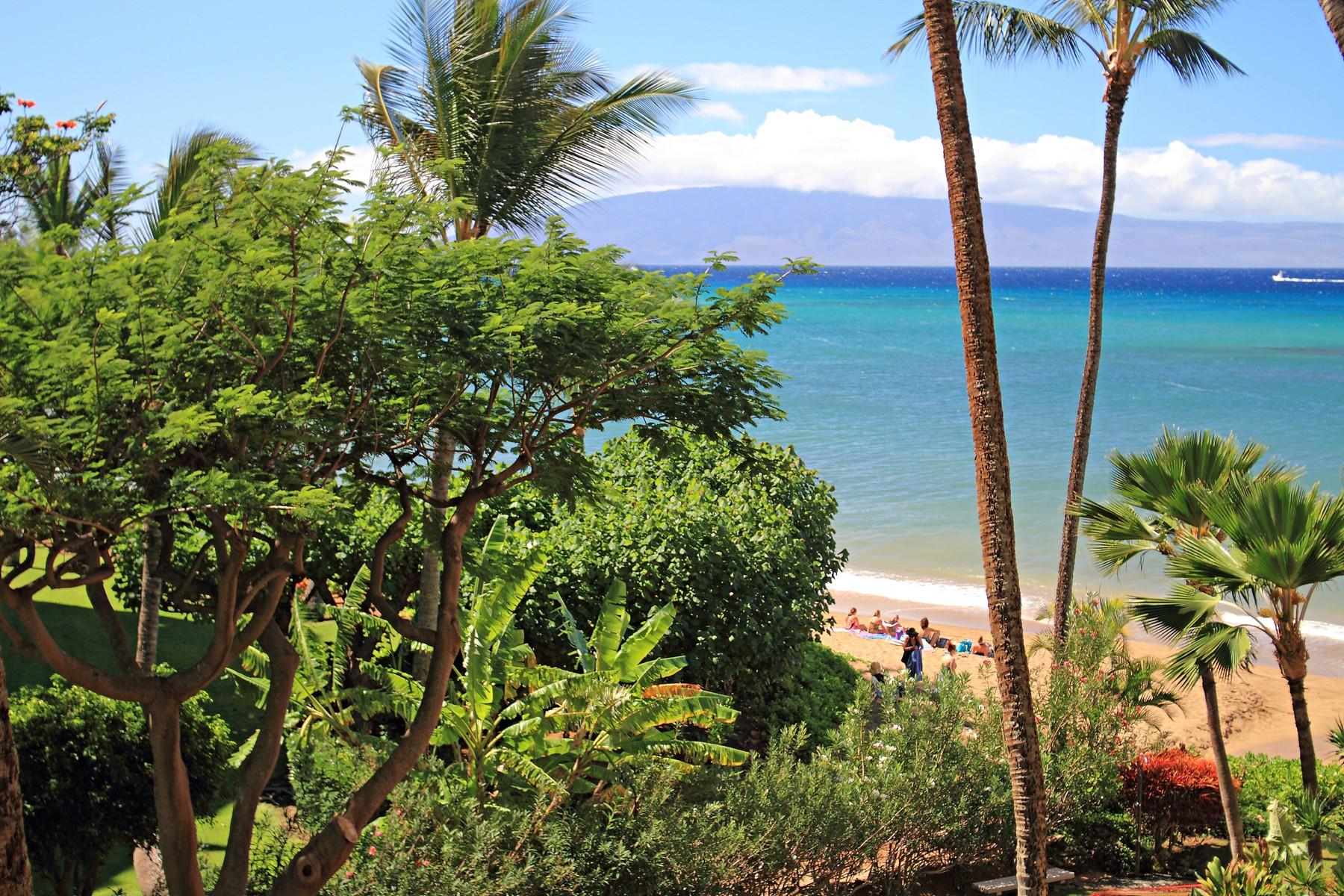 Condominium for Sale at Top of the Line Turn-Key Remodel Great Ocean Views 4327 Lower Honoapiilani Road, Valley Isle Resort 403 Lahaina, Hawaii 96761 United States