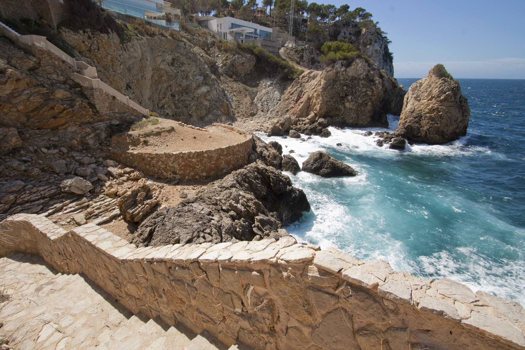 地產 為 出售 在 Seafront plot in Santa Ponsa Nova Santa Ponsa, 馬婁卡 07181 西班牙
