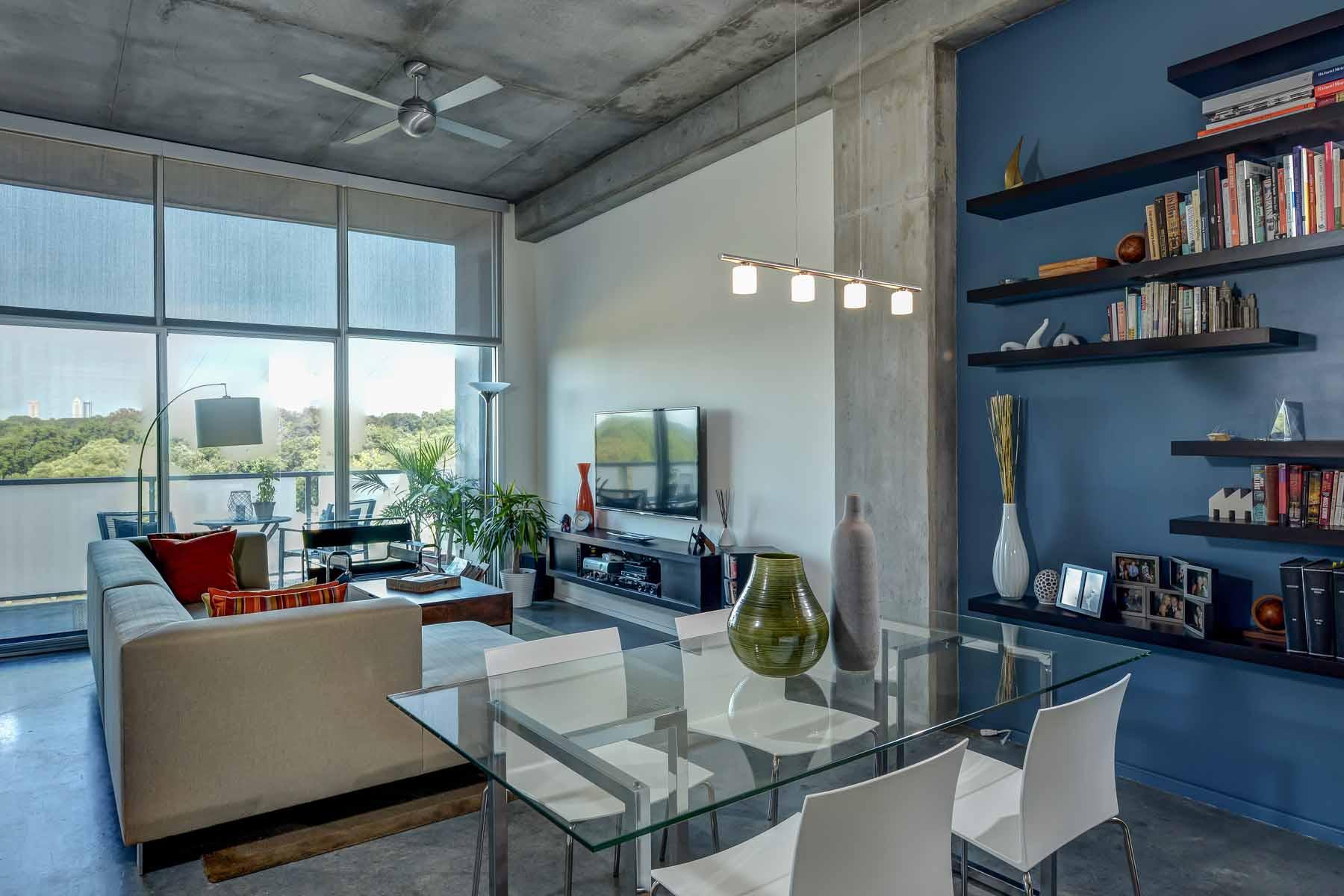 Single Family Home for Sale at Upgraded Top Floor Loft with Skyline View from Balcony 130 Arizona Avenue NE Unit 409 Atlanta, Georgia 30307 United States