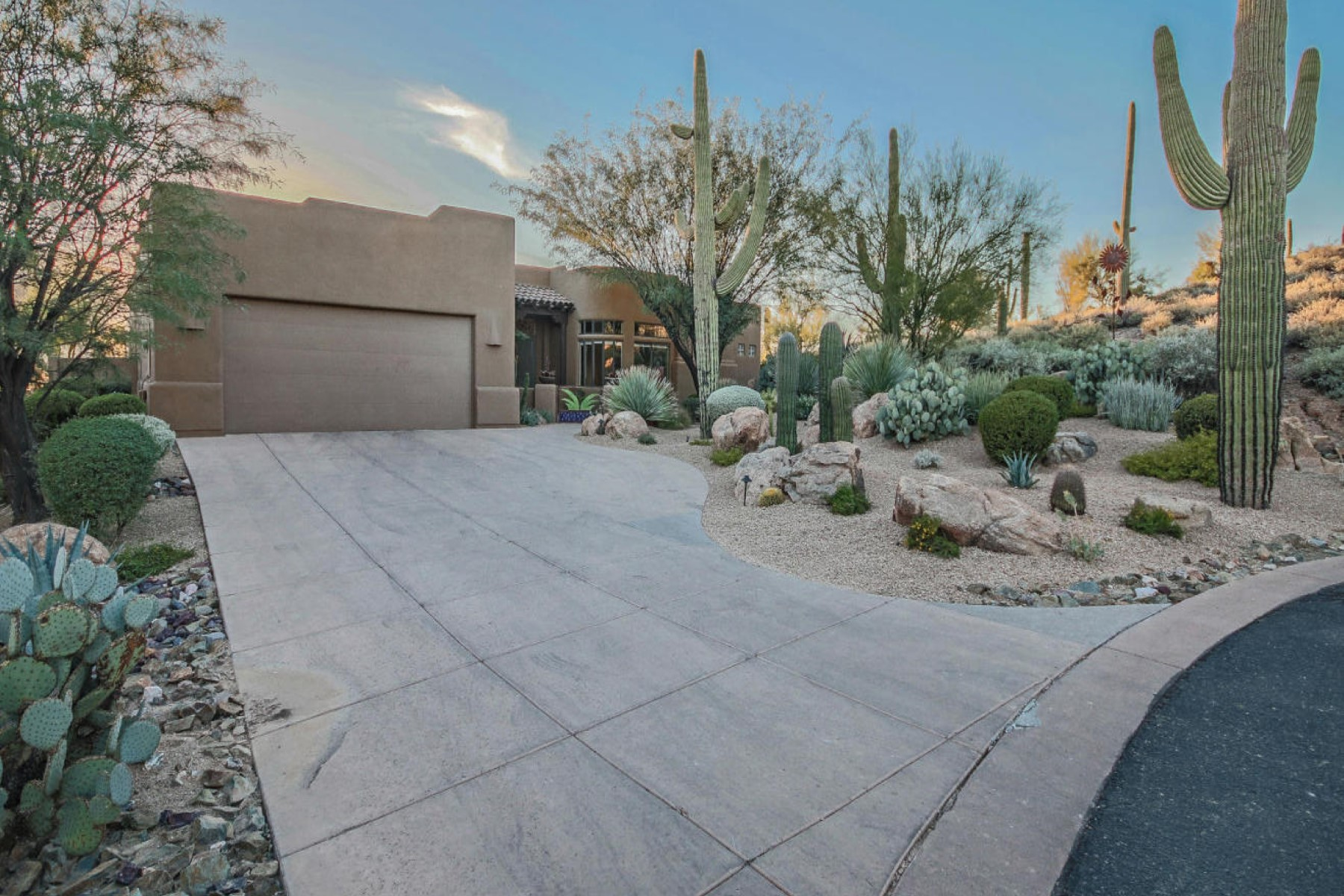 Property For Sale at Beautiful home in a private desert setting in an exclusive enclave