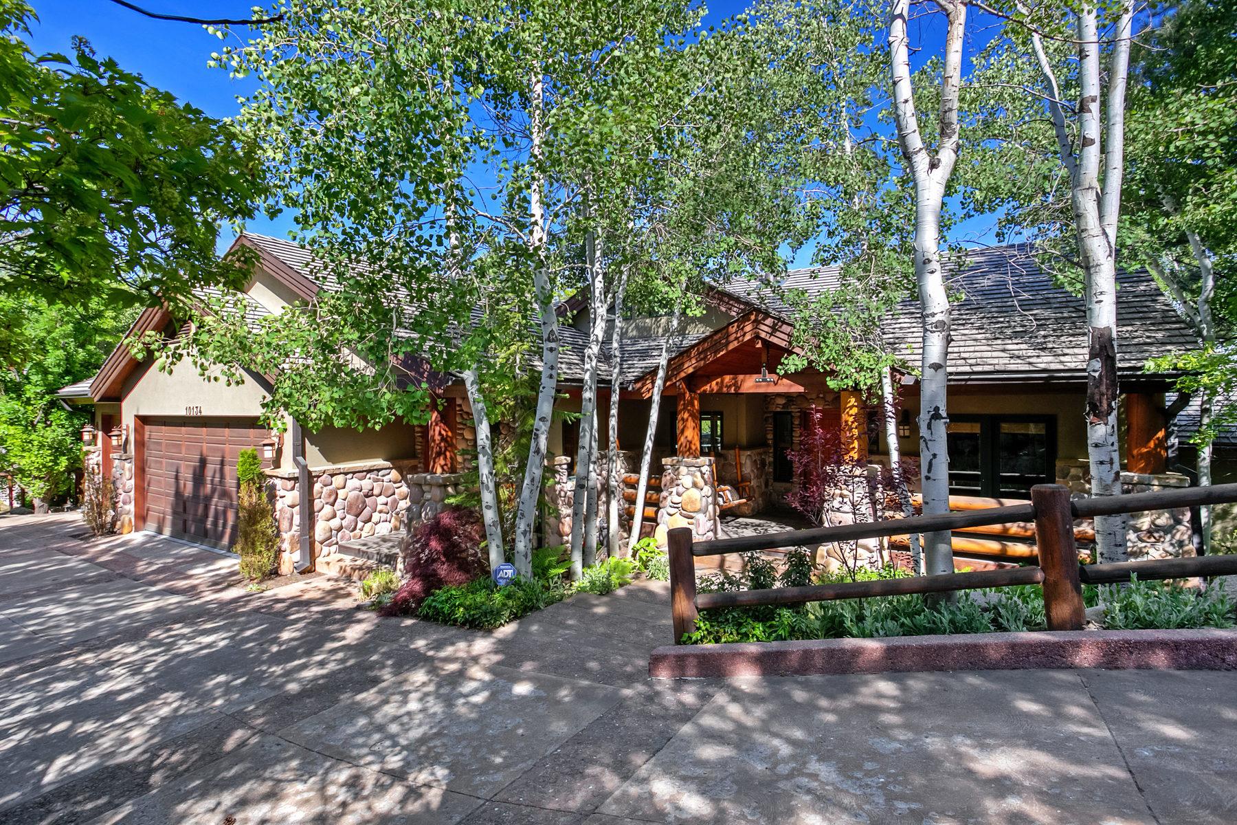 独户住宅 为 销售 在 Classic Mountain Retreat 10134 S Wasatch Blvd 桑迪, 犹他州, 84092 美国