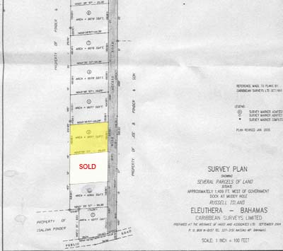 Additional photo for property listing at Lot 4 with beach access Russell Island, Spanish Wells, Eleuthera Bahamas