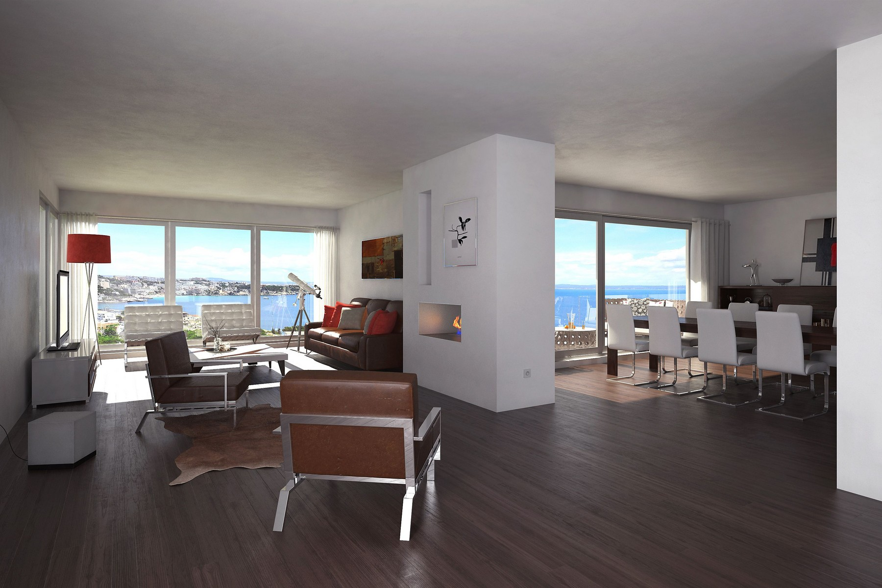 아파트 용 매매 에 7122 Luxury apartment with sea views in Cas Catalá Nou Bendinat, 말로카, 07181 스페인