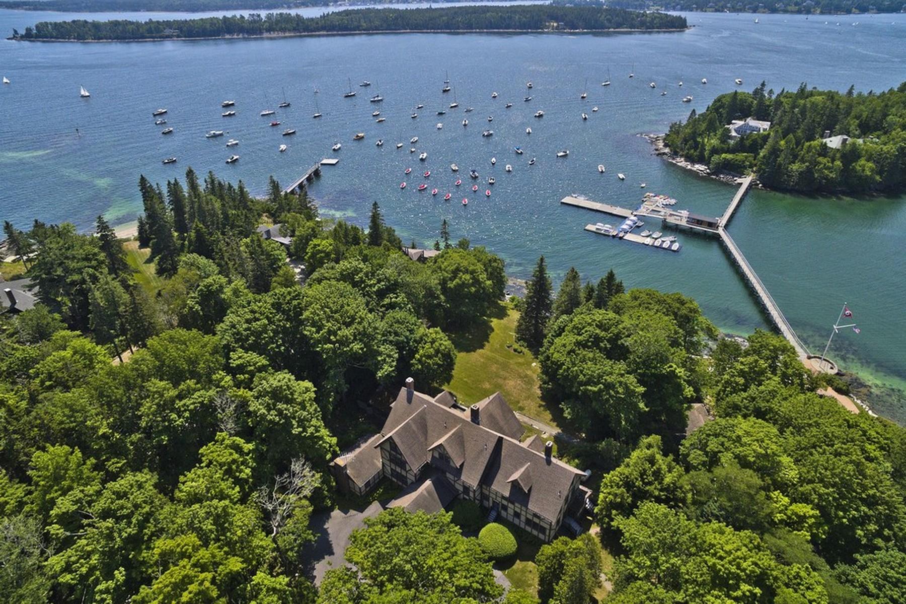Tek Ailelik Ev için Satış at Edgecove 46 South Shore Road Northeast Harbor, Maine, 04662 Amerika Birleşik Devletleri