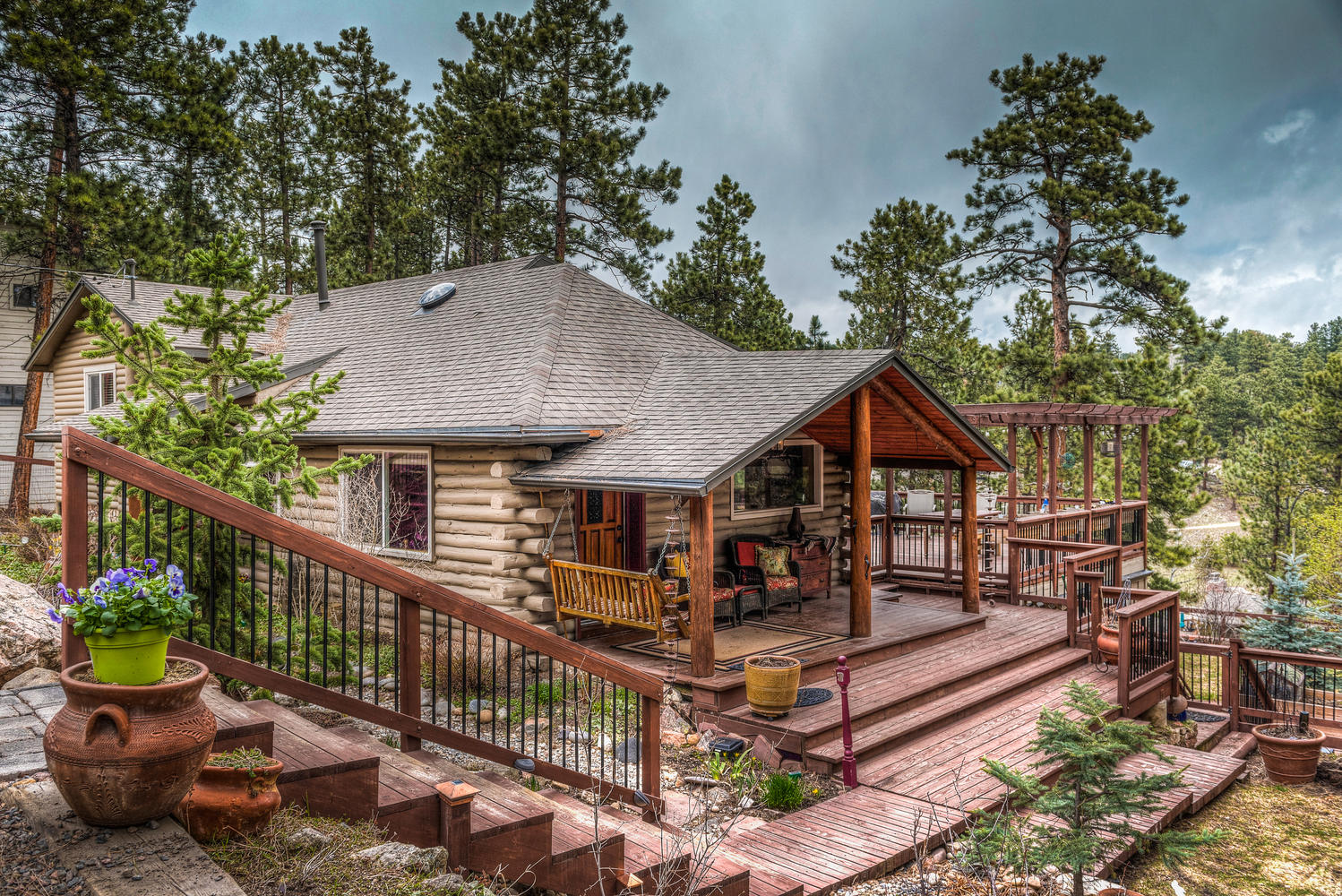 sales property at Charming Mountain Home with Expansive Decking