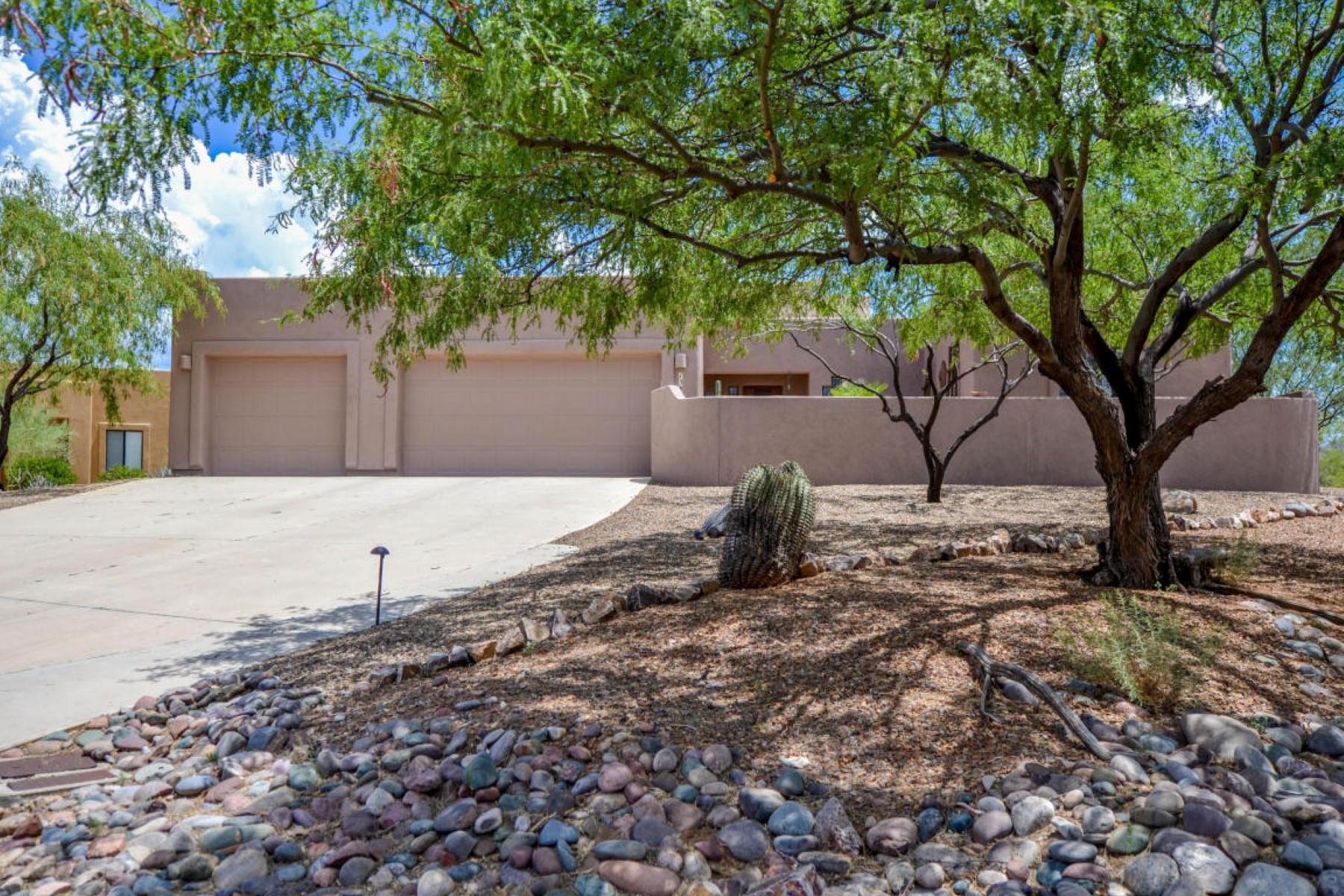 Single Family Home for Sale at Semi-Custom Sombra built home on nearly one acre 13876 E Placita Asta Vail, Arizona 85641 United States