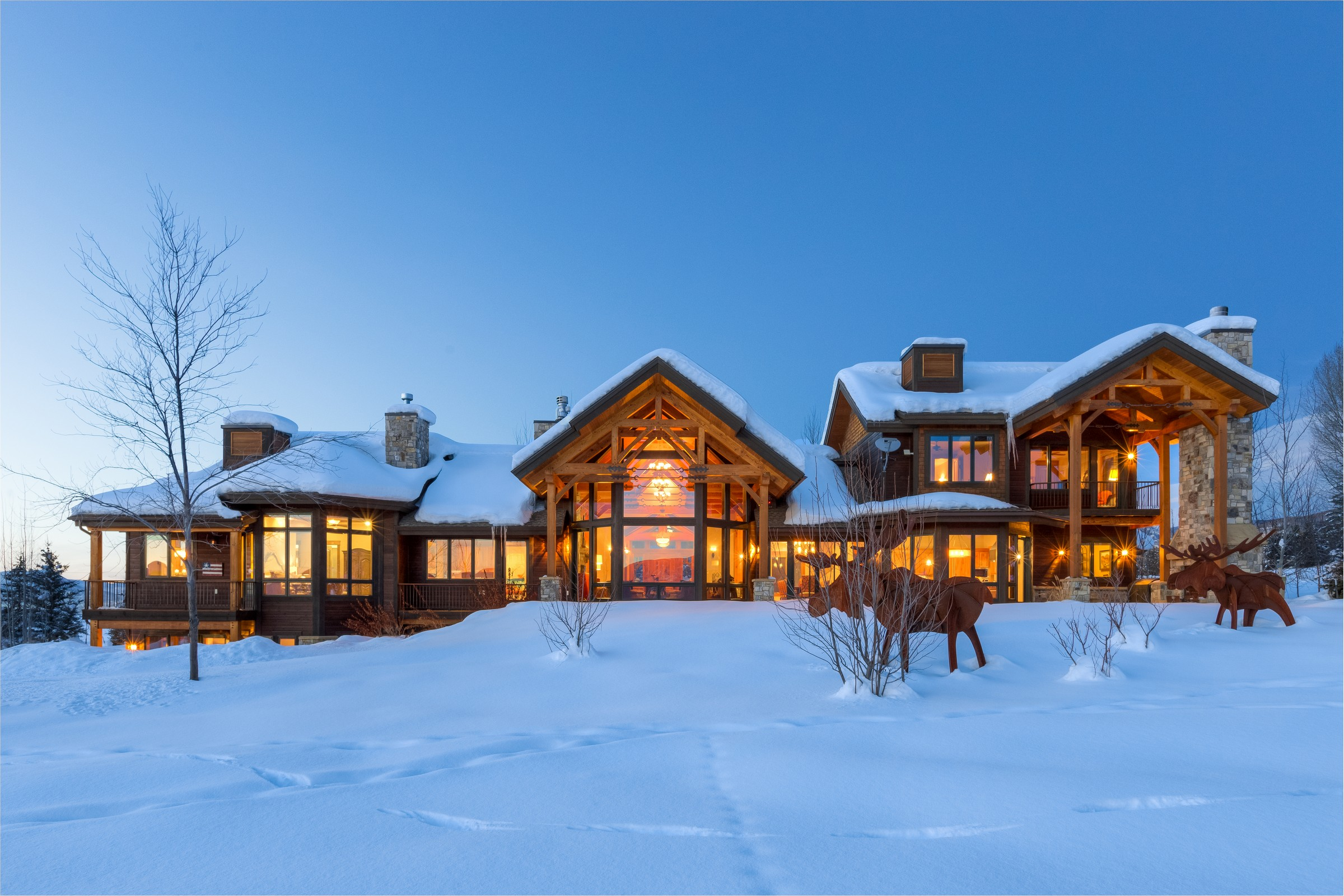 Single Family Home for Sale at Eagles View Home 1055 Anglers Drive Steamboat Springs, Colorado, 80487 United States