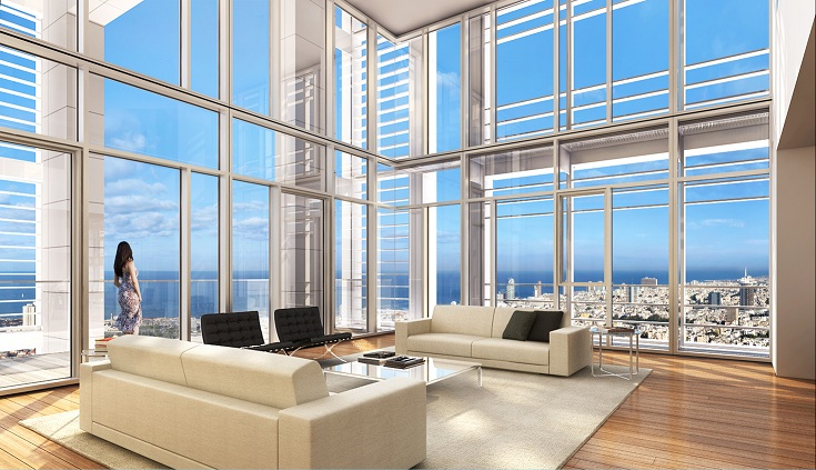 "Apartamento para Venda às ""Palace in the sky""penthouse at Meier On Rothschild Tel Aviv, 61999 Israel"
