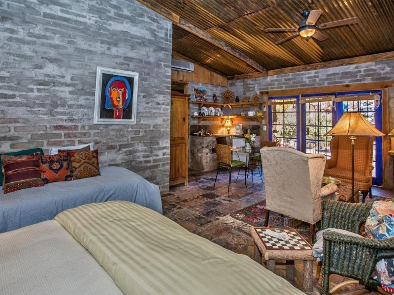Property Of Charming Bed and Breakfast is Across the Creek in Aravaipa Farms