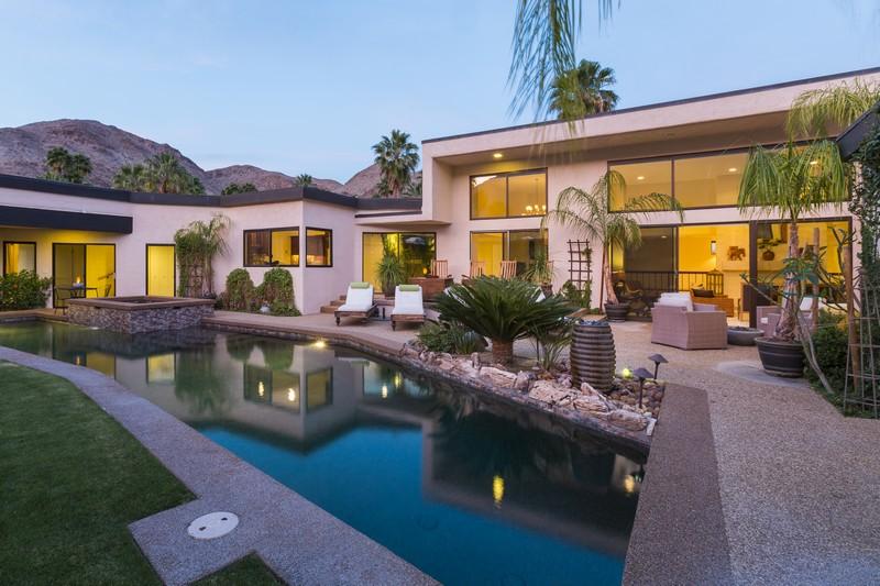 Einfamilienhaus für Verkauf beim 1610 Dunham Road Palm Springs, Kalifornien 92264 Vereinigte Staaten