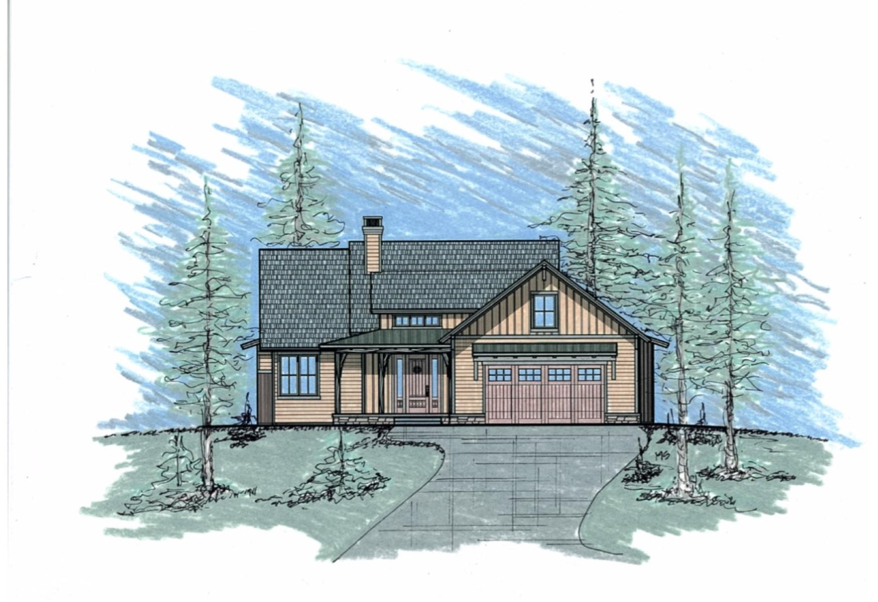 단독 가정 주택 용 매매 에 2710 Bunkhouse Place 2710 Bunkhouse Lot 161 Missoula, 몬타나, 59808 미국