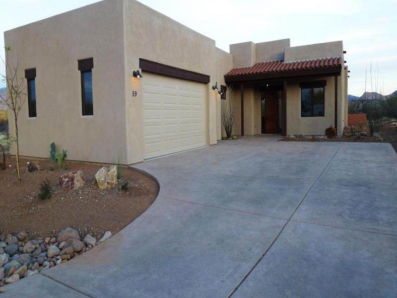Vivienda unifamiliar por un Venta en Beautiful Southwestern Home with Mountain and Golf Views 59 Burruel Street Tubac, Arizona 85646 Estados Unidos