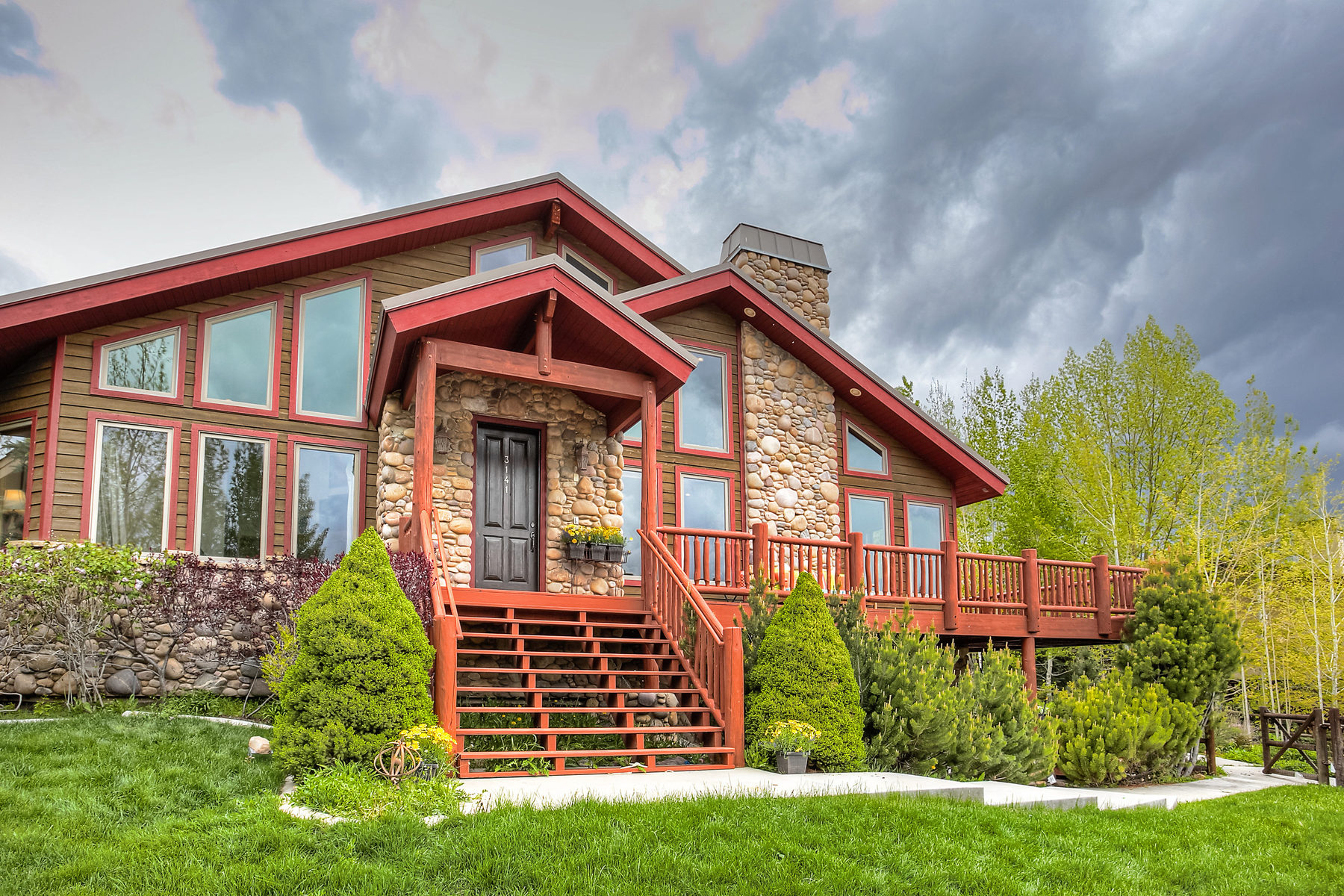 Single Family Home for Sale at Classic Home with Mountain Views 3141 American Saddler Dr Park City, Utah 84060 United States