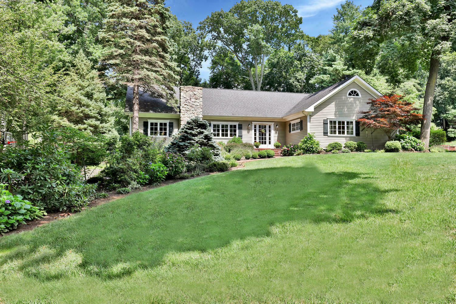 Single Family Home for Sale at Rumson Expanded Ranch 15 Circle Drive Rumson, New Jersey, 07760 United States