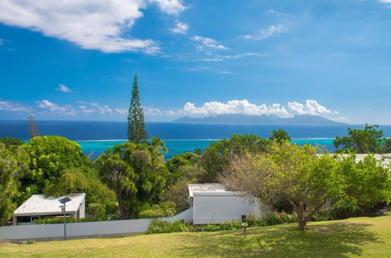 Multi-Family Home for Sale at Rare property with 180° view Punaauia, Tahiti French Polynesia