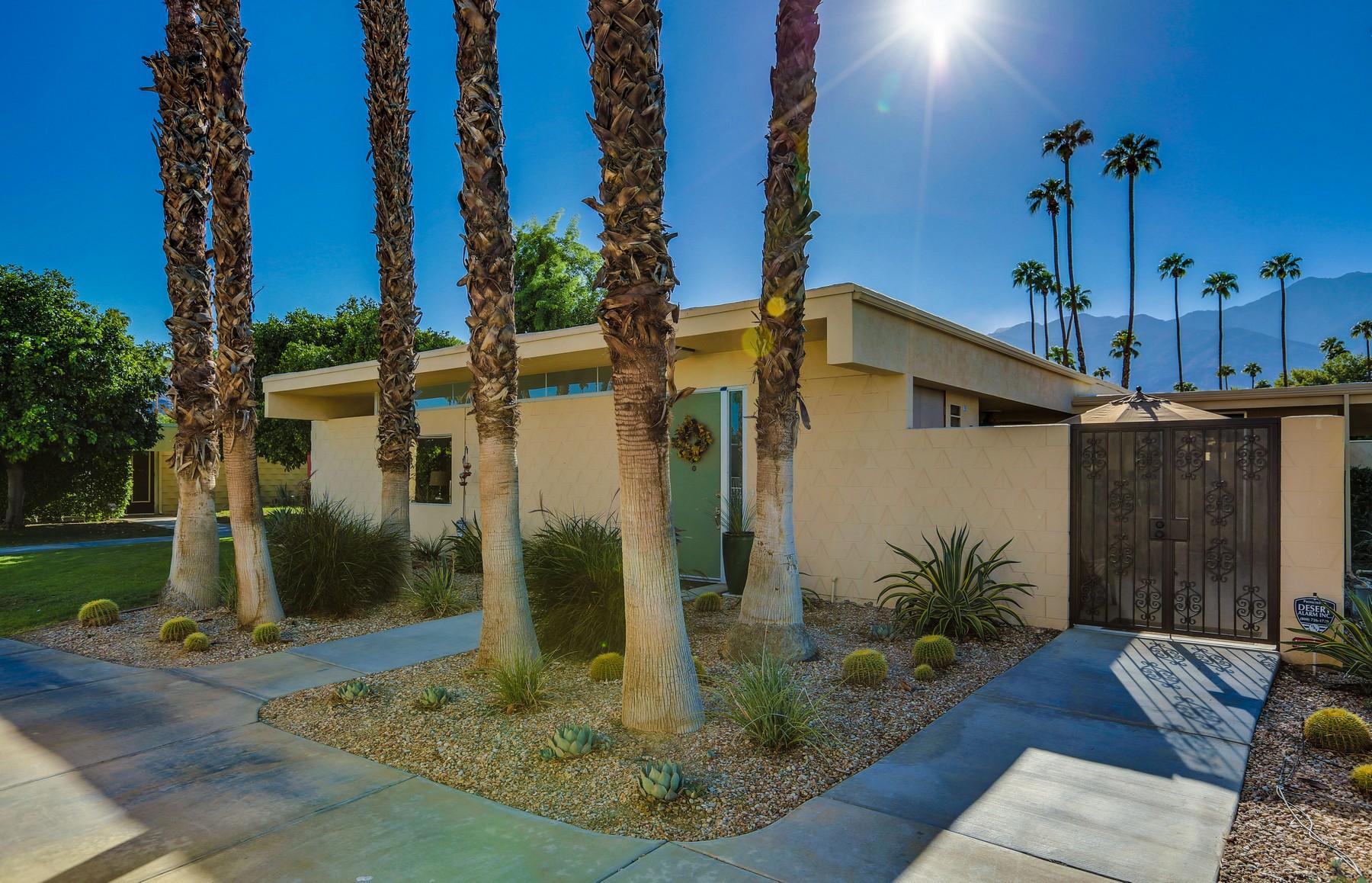 Частный односемейный дом для того Продажа на 338 Desert Lakes Drive Palm Springs, Калифорния, 92264 Соединенные Штаты