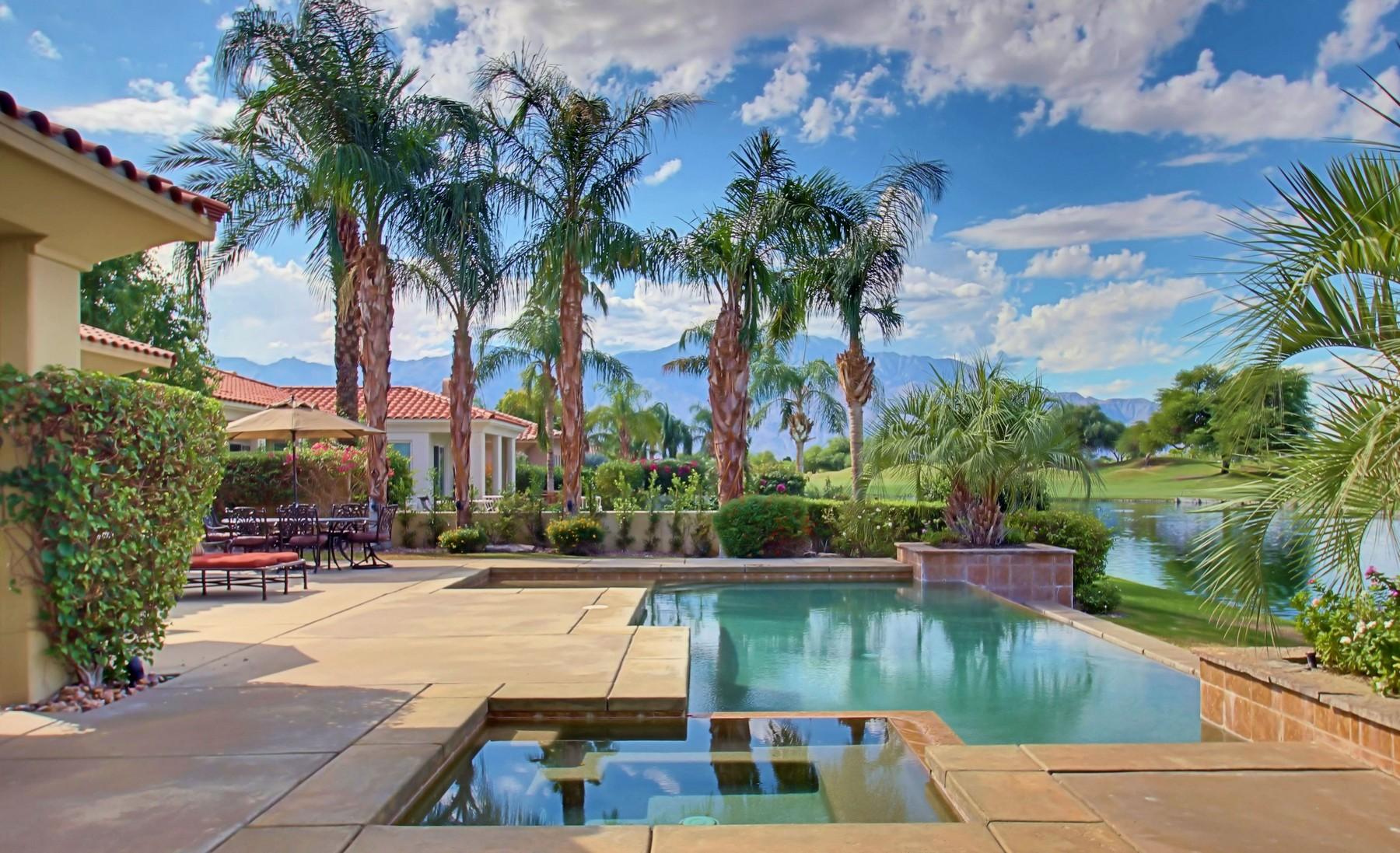 独户住宅 为 销售 在 404 Loch Lomond Road Rancho Mirage, 加利福尼亚州 92270 美国
