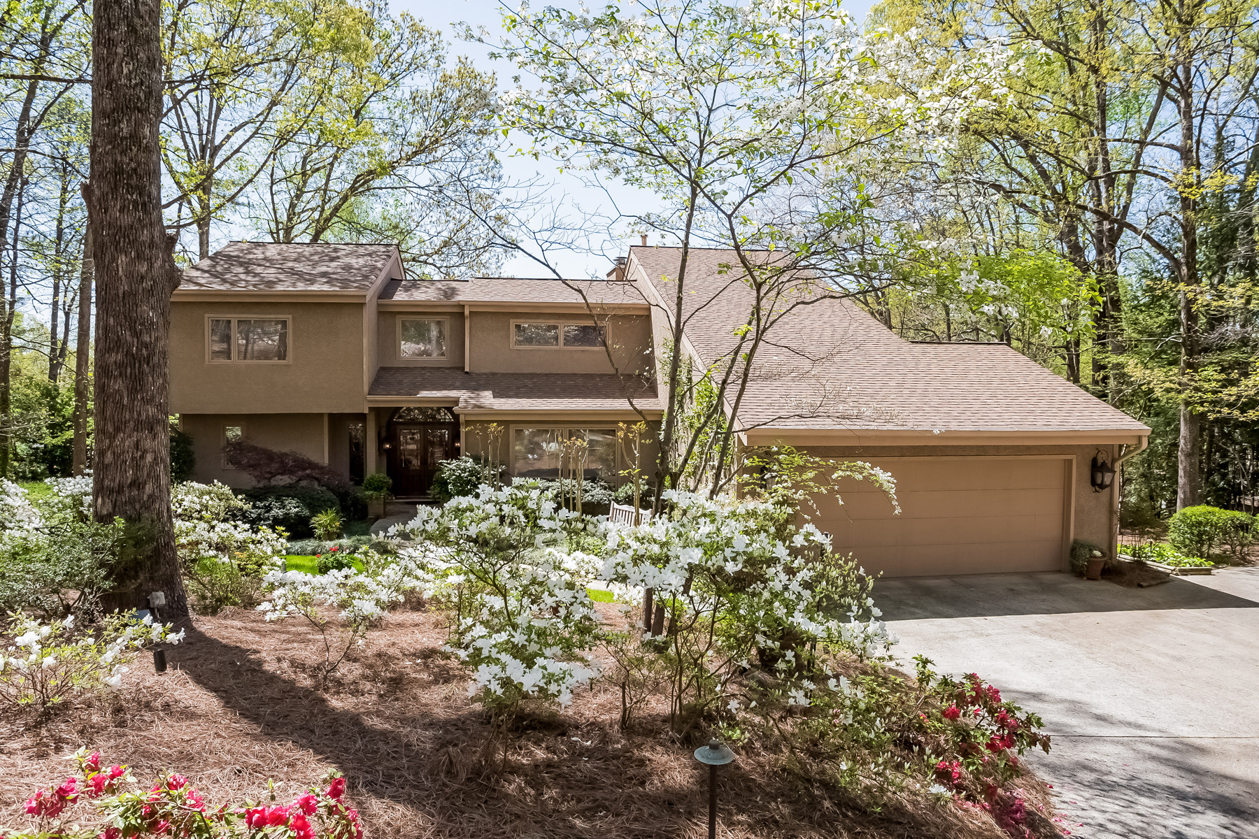 Single Family Home for Active at Beautiful Home, Located On Private Lake In Heards Ferry 12 Spring Oaks Court Sandy Springs, Georgia 30327 United States