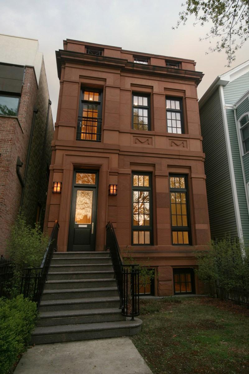 獨棟家庭住宅 為 出售 在 Stunning Melrose Partners Home 2425 N Burling Street Lincoln Park, Chicago, 伊利諾斯州, 60614 美國