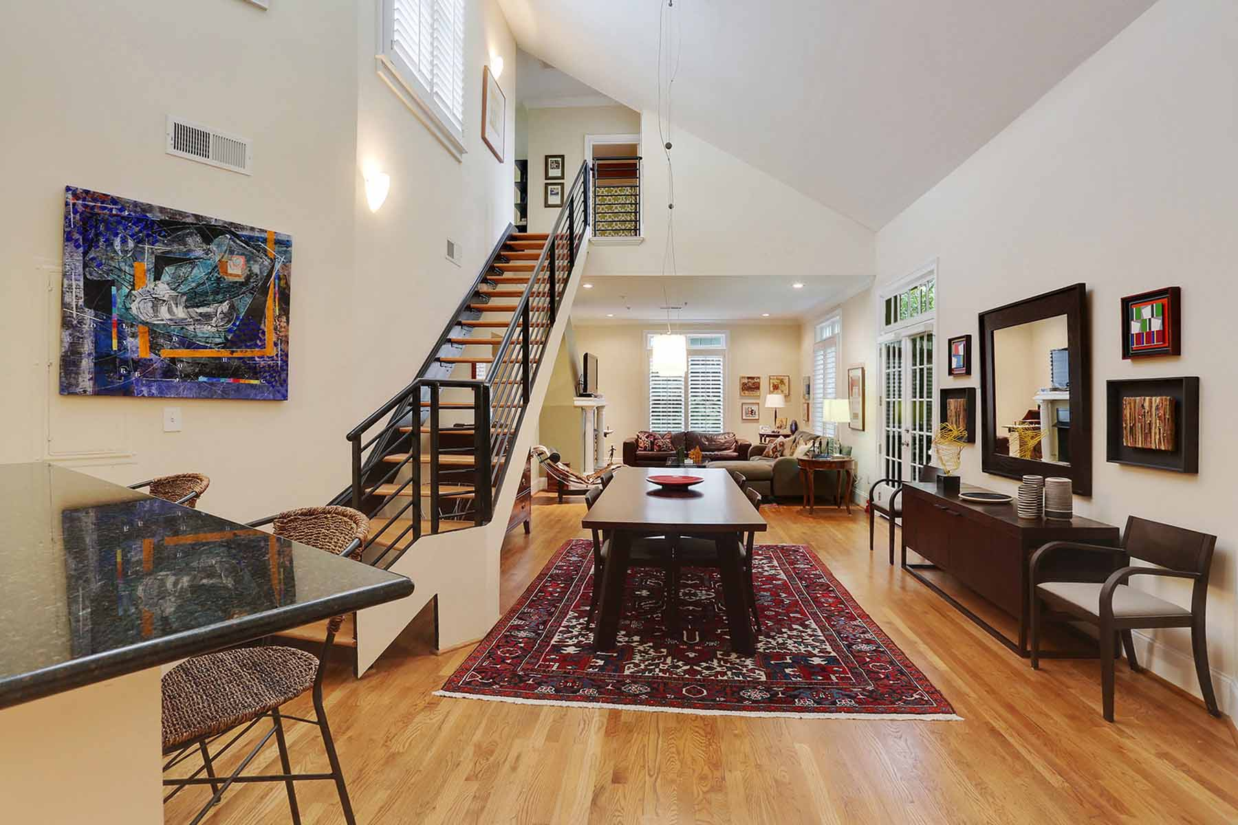 Property For Sale at Absolutely gorgeous two-story loft in the historic DAR building in Ansley Park!
