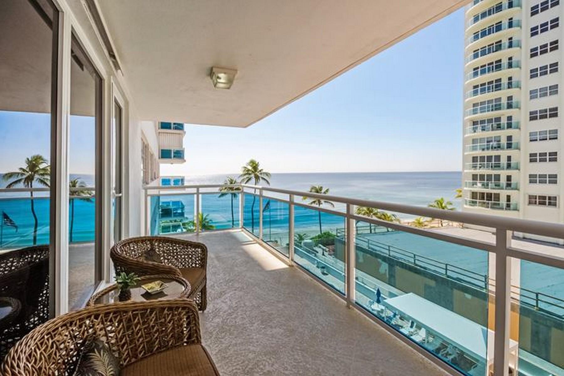 Appartement pour l Vente à 3430 Galt Ocean Dr #508 Fort Lauderdale, Florida 33308 États-Unis