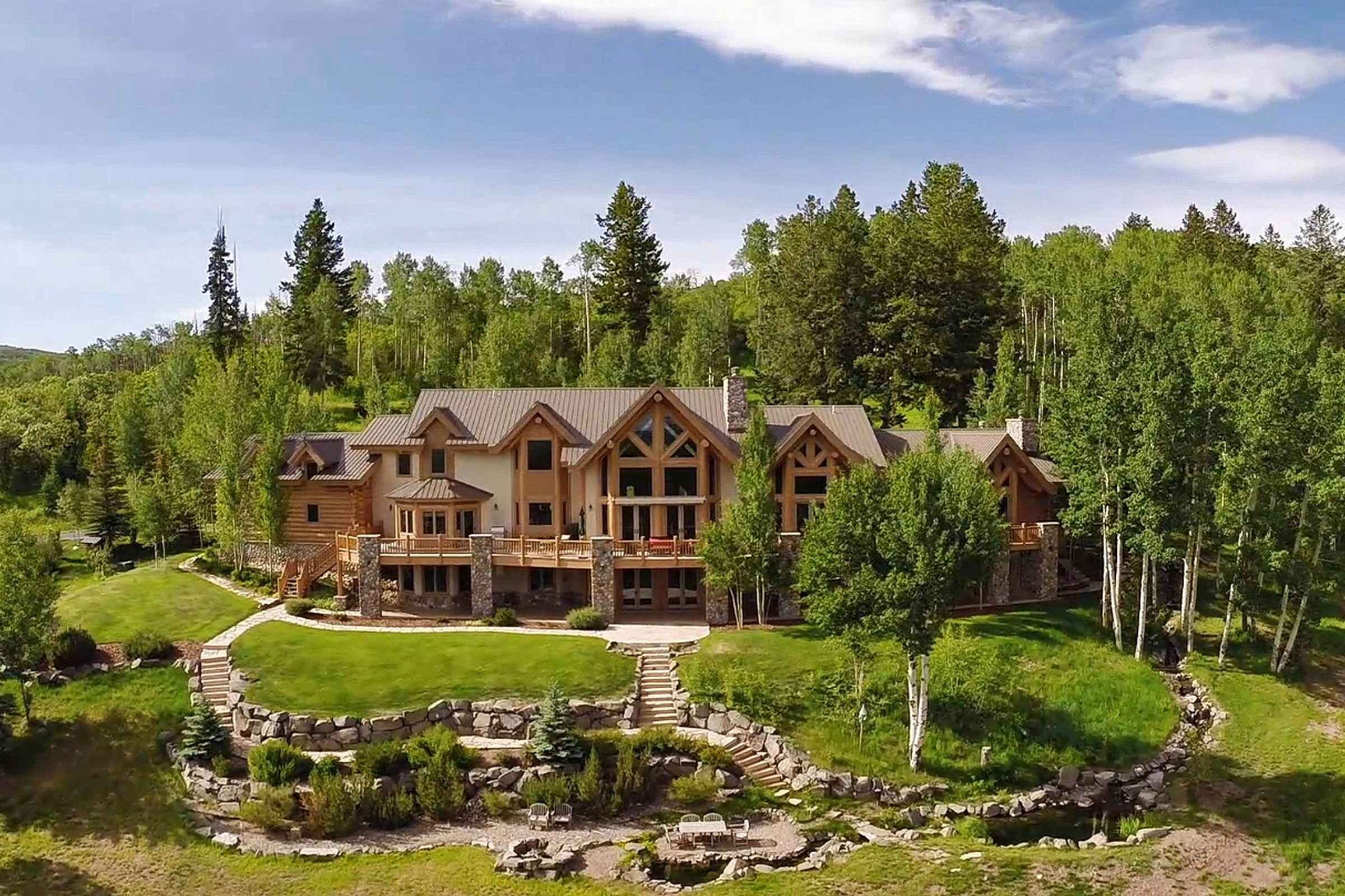 Granjas / Hacienda / Platanción por un Venta en Lazy K Ranch 27795 County Road 14 Steamboat Springs, Colorado, 80487 Estados Unidos