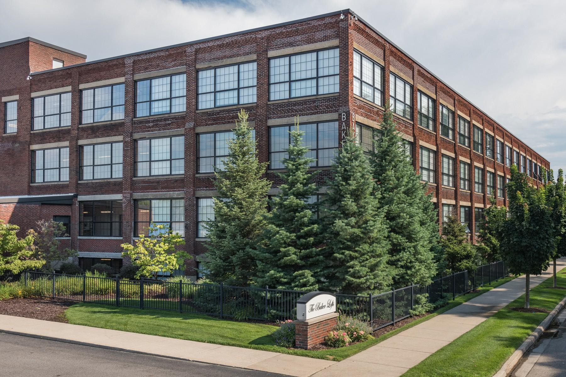 共管式独立产权公寓 为 销售 在 Baker Lofts Condominium 533 Columbia Avenue Unit 307 霍德兰, 密歇根州 49423 美国