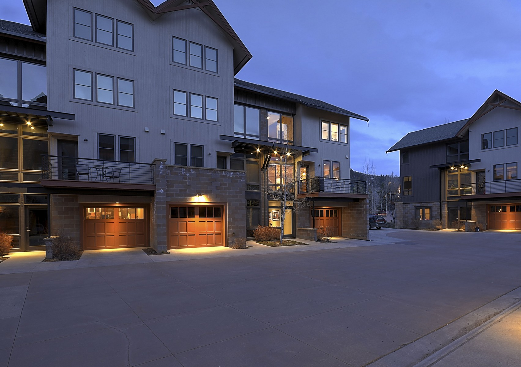 Townhouse for Sale at Modern Loft Townhome 2912 Blackhawk Court unit 16 Steamboat Springs, Colorado 80487 United States