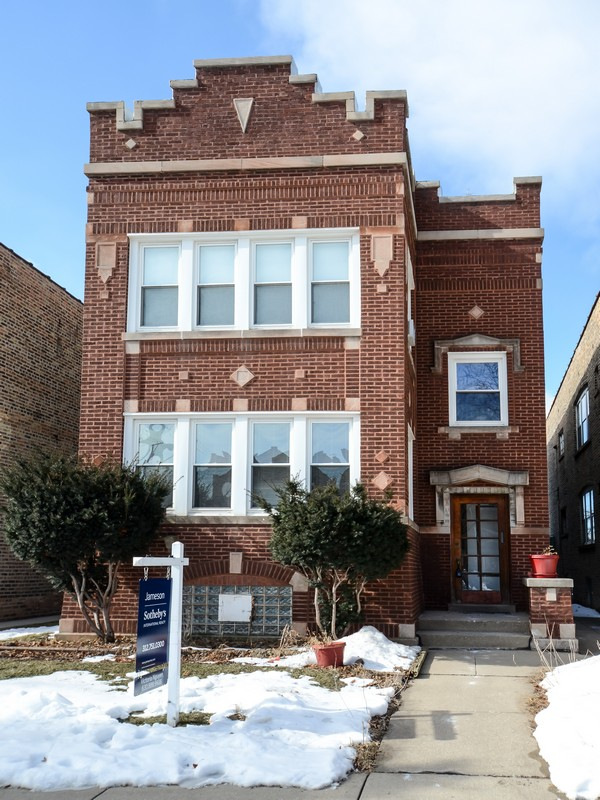 Multi-Family Home for Sale at Spacious Brick 2 Flat 5618 North Rockwell Street Lincoln Square, Chicago, Illinois 60569 United States