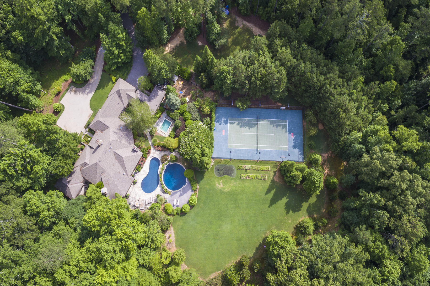 rentals property at One Of A Kind French Country European Estate