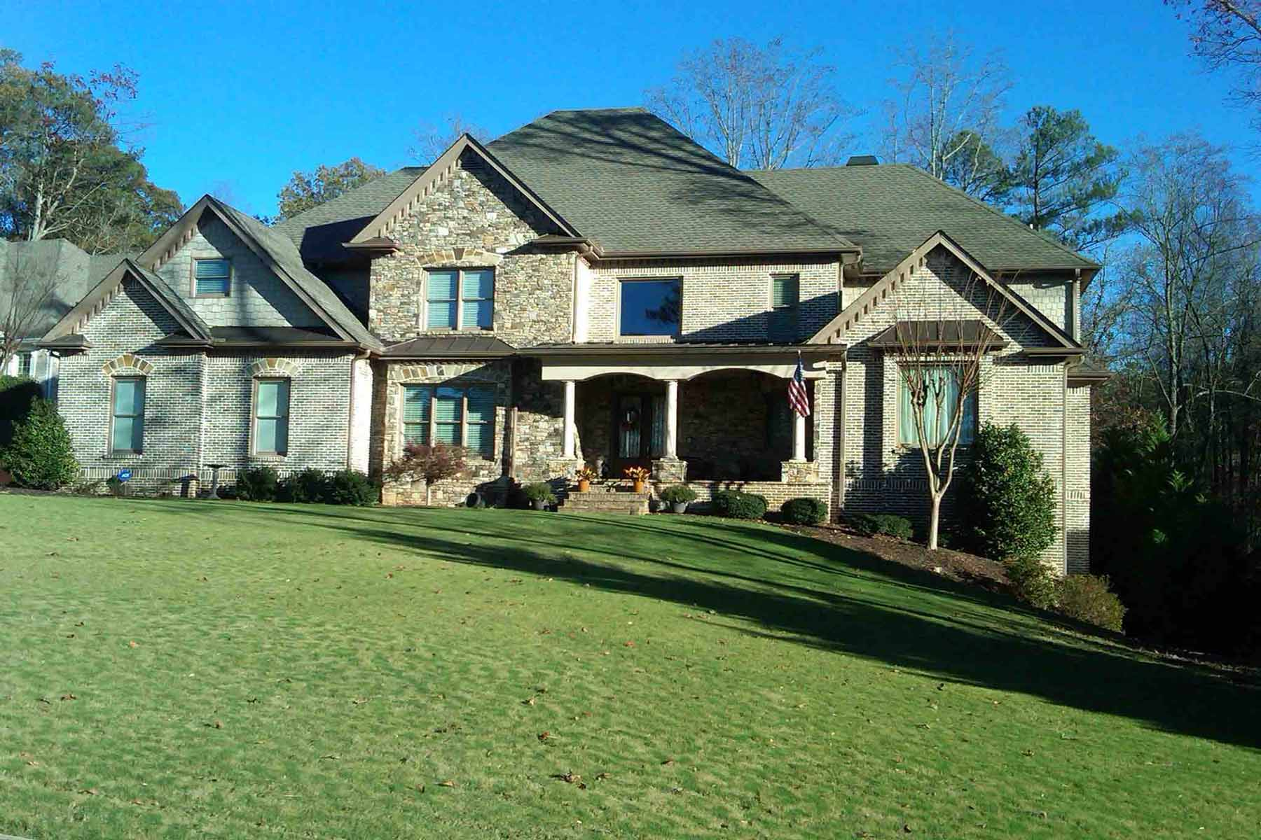 Single Family Home for Sale at Gorgeous 6 Bedroom Home on 1.3 acres in Lake Charles Estates 1025 Wordsworth Drive Roswell, Georgia, 30075 United States