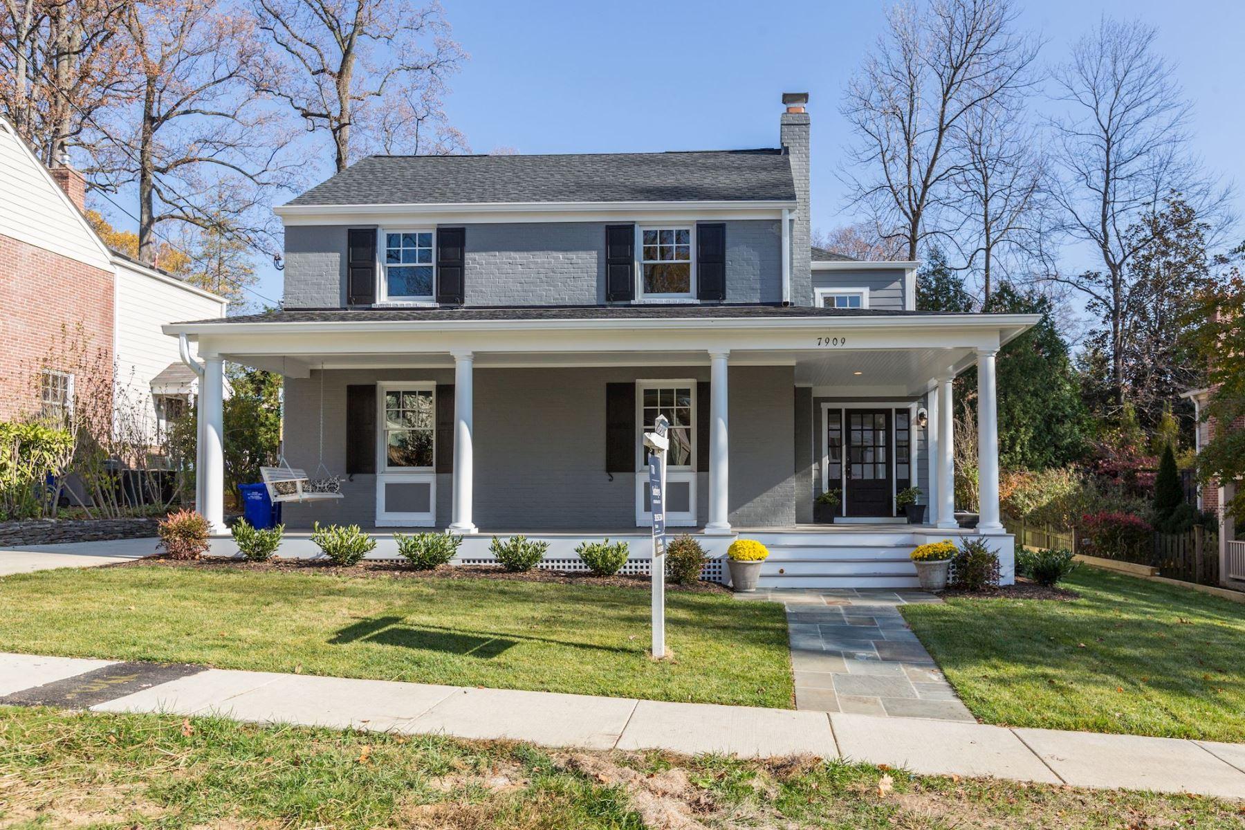 단독 가정 주택 용 매매 에 7909 Lynbrook Drive, Bethesda Bethesda, 메릴랜드, 20814 미국